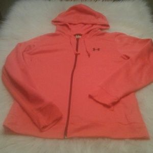 Woman's size L  under Armour hoodie $ 19.00 # 1379
